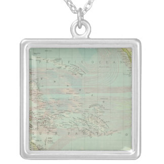 Pacific Ocean 5 Silver Plated Necklace