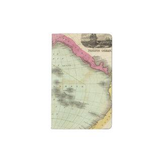 Pacific Ocean 6 Pocket Moleskine Notebook