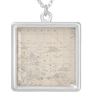 Pacific Ocean 9 Silver Plated Necklace
