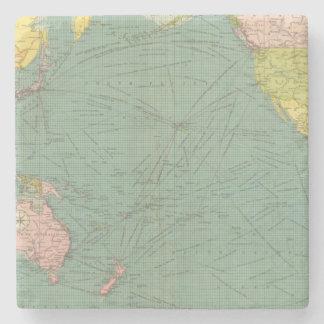Pacific Ocean 9 Stone Coaster