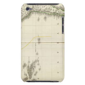 Pacific Ocean Atlas Map Barely There iPod Case