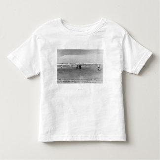 Pacific Ocean Beach Scene Photograph Toddler T-Shirt