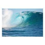 Pacific ocean big wave breaking photographic print