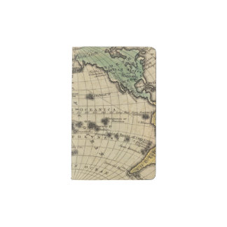 Pacific Ocean, British Islands Pocket Moleskine Notebook