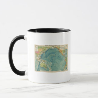 Pacific Ocean cables, wireless stations Mug