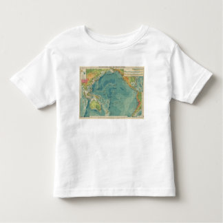 Pacific Ocean cables, wireless stations Toddler T-Shirt