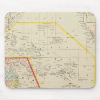 Pacific Ocean including Oceania Mouse Mat