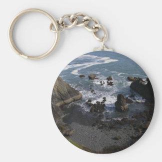 Pacific Ocean Key Ring