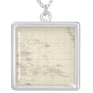 Pacific Ocean Silver Plated Necklace