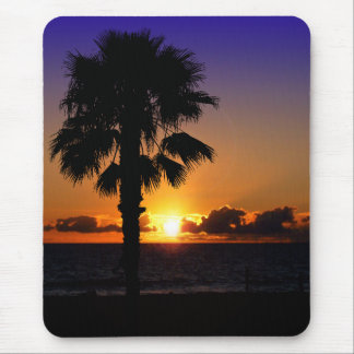 Pacific Ocean Sunset Mouse Mat