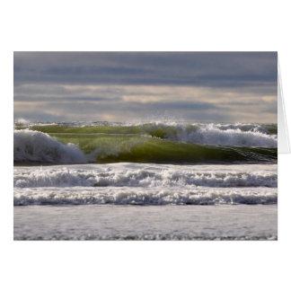Pacific Ocean Waves! Greeting Card