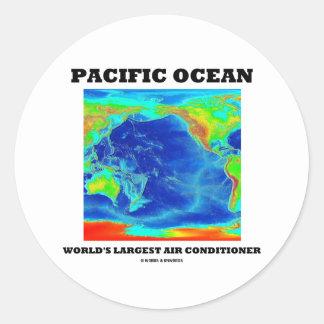 Pacific Ocean World's Largest Air Conditioner Sticker