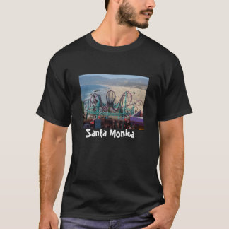 Pacific Park Pacifc SMO Beach, Santa Monica T-Shirt