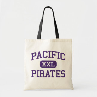Pacific - Pirates - High - Port Orford Oregon Budget Tote Bag