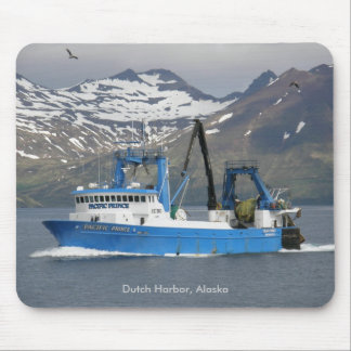 Pacific Prince, Fishing Trawler in Dutch Harbor Mouse Mat