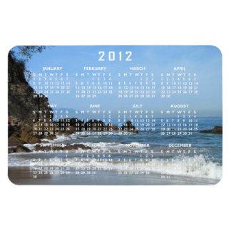 Pacific Rolling In; 2012 Calendar Rectangular Photo Magnet