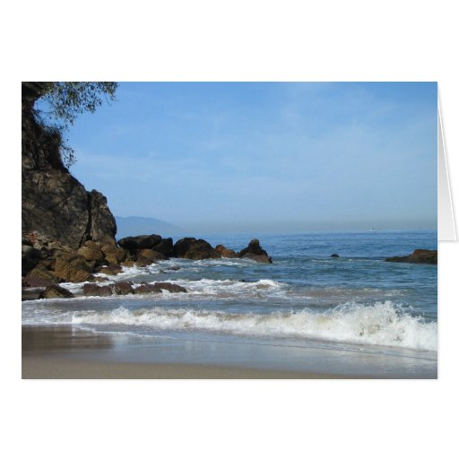 Pacific Rolling In; Customizable Card