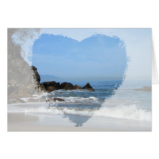 Pacific Rolling In; Customizable Greeting Cards