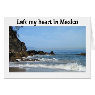 Pacific Rolling In; Mexico Souvenir Greeting Cards