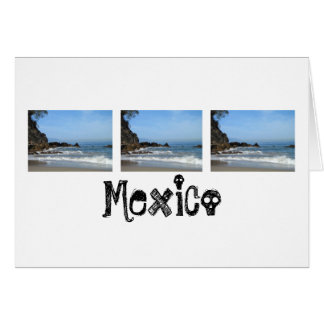 Pacific Rolling In; Mexico Souvenir Cards