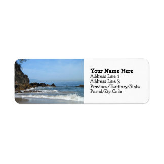Pacific Rolling In Return Address Label