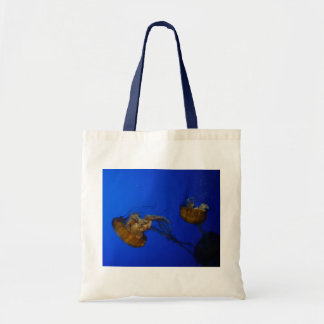 Pacific Sea Nettle Jellyfish Tote Bag