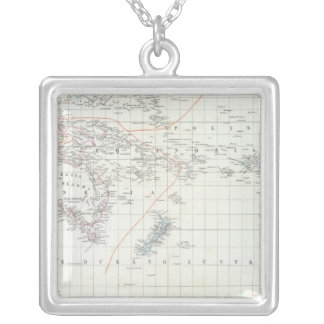 Pacific Silver Plated Necklace