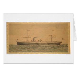 Pacific Steamship Sacramento (1607A) Greeting Card