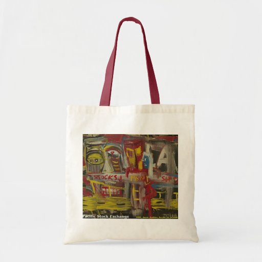 Pacific Stock Exchange Canvas Bag