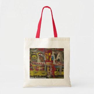 Pacific Stock Exchange Canvas Bag