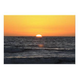 Pacific Sundown Art Photo