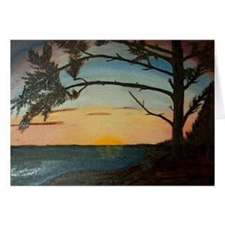 Pacific Sunset Wikininnish Island BC Card