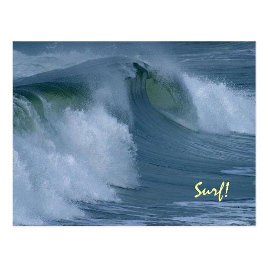 Pacific Surf Custom Postcard