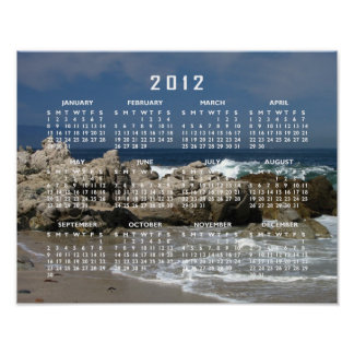 Pacific Vista; 2012 Calendar Poster