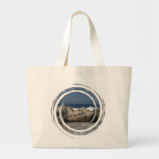 Pacific Vista Jumbo Tote Bag