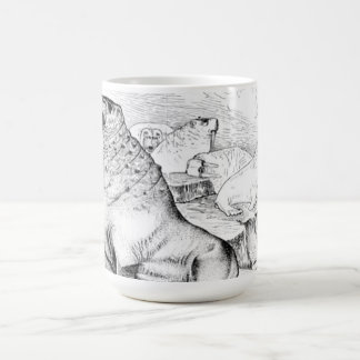 Pacific Walrus Coffee Mug
