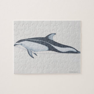 Pacific White-Sided Dolphin Jigsaw Puzzle