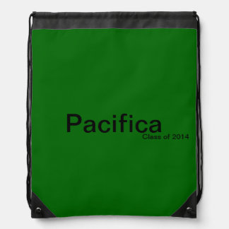 Pacifica Class of 2014 Backpacks