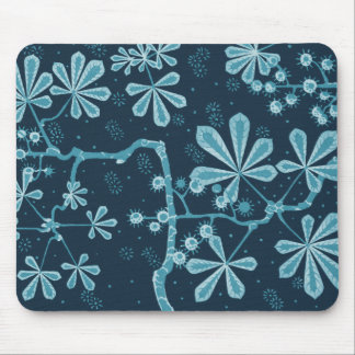 Pacifica Frost Flower Mousepad
