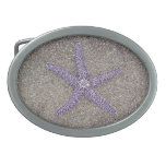Pacifica Starfish Oval Belt Buckles