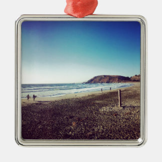 Pacifica State Beach Christmas Ornament
