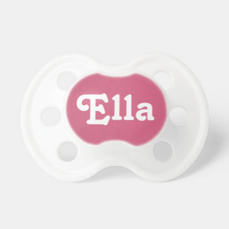 Pacifier Ella