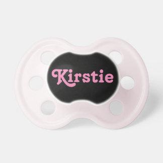 Pacifier Kirstie