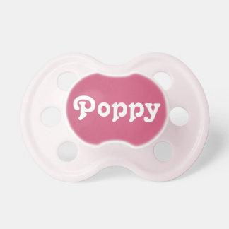 Pacifier Poppy