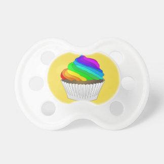Pacifier Rainbow Cupcake