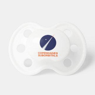 Pacifier With Copenhagen Suborbitals Logo