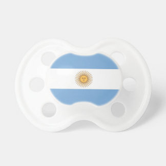 Pacifier with flag of Argentina