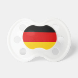 Pacifier with flag of Germany