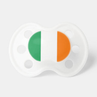 Pacifier with flag of Ireland