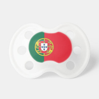 Pacifier with flag of Portugal